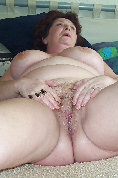 Hairy Mature Stockings Solo