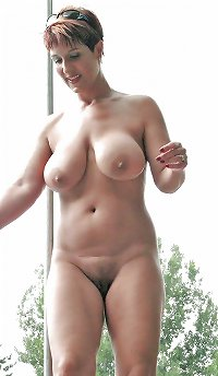 nude Mature beach granny